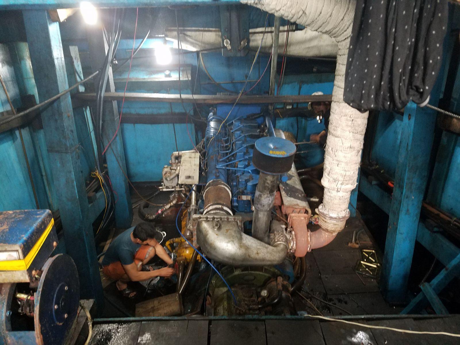 Giám định tổn thất Tàu QNg-92522